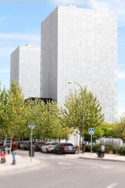 Edificios gemelos Enagás, Digitex y Repsol, Madrid