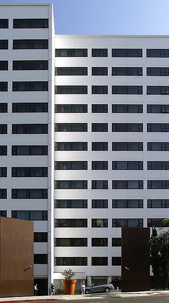 Hotel Mondrian, Los Ángeles