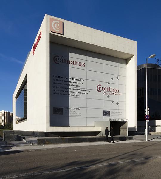 Edificio Cámaras de Comercio, Madrid