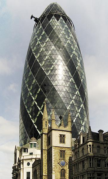 Edificio Gherkin, Londres